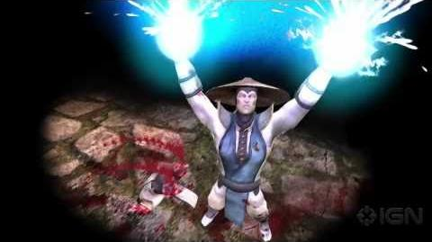 Mortal Kombat Raiden Trailer