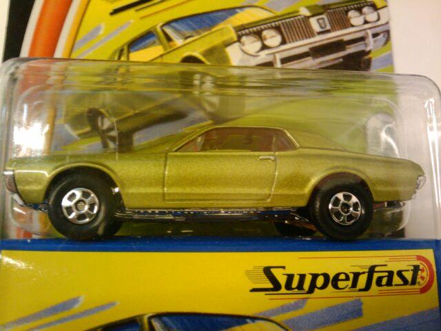 File:Superfast 1968 Mercury Cougar green.jpg