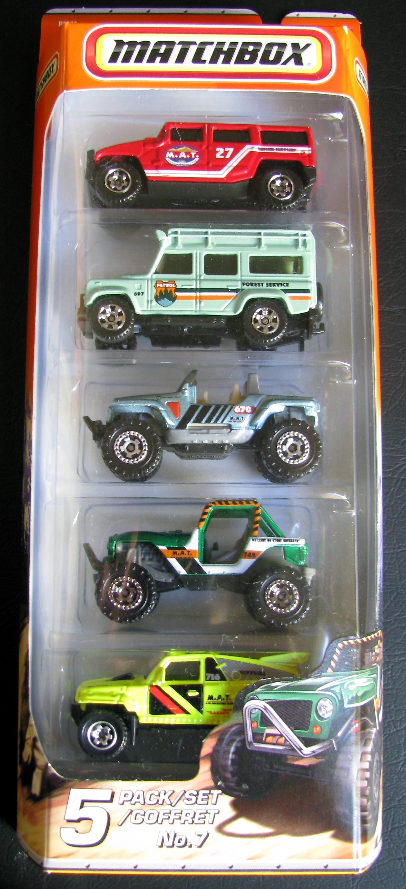 Image - 2010 5-packs No.7 Wolf Mountain.jpg | Matchbox Cars Wiki ...