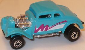 MBX 33 Willys Street Rod Aqua