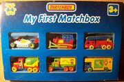 My First Matchbox (6 Pack)