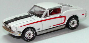 1968 Ford Mustang Cobra Jet WCwht