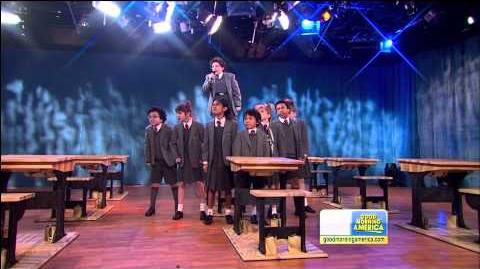 Cast of Broadway's Matilda the Musical Performs on Good Morning America