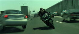The Matrix Reloaded Freeway Chase
