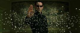 Neo stops bullets 2