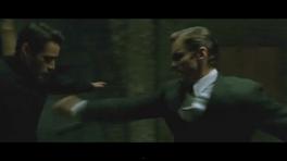 Agent Thompson Fights Neo