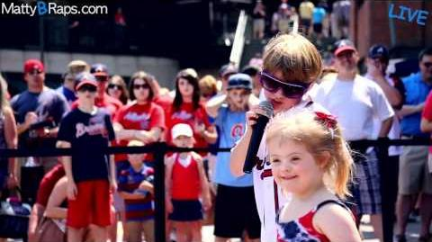 MattyBRaps LIVE at Turner Field