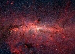 Milky Way IR Spitzer