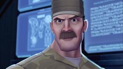 Max Steel Reboot Colonel Jasper F. Castle -2