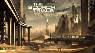 Scorch Trials Concept Art