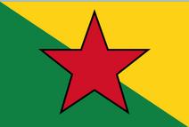 Flag of Koshima Nymone State