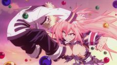 Medaka attacks Unzen
