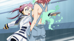Onigase punches Yunomae