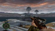 Battleship Raiders overlook