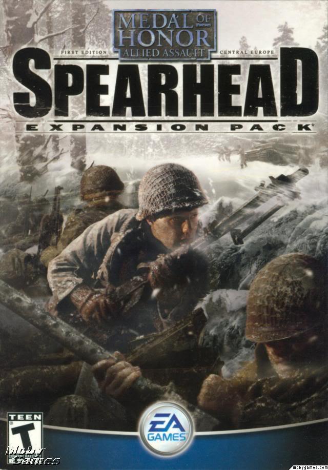 Medal of honour spearhead