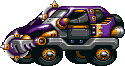 Mad Taxi Purple