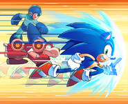 Sonic the Hedgehog 275 art