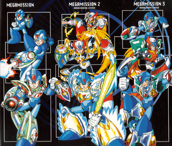 Rockman x mega mission series mmkb fandom powered by for Mission exe