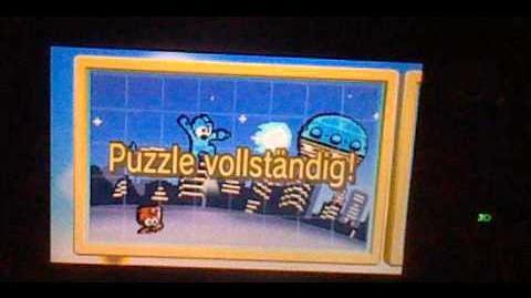 Mega Man (Rockman) StreetPass Puzzle
