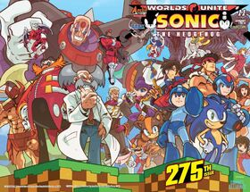 Sonic The Hedgehog -275 (variant 1)