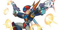Axl's weaponry