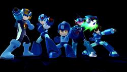 SSB4 - Mega Man Final Smash