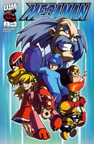 File:Mega Man Issue -1 (Variant --).jpg