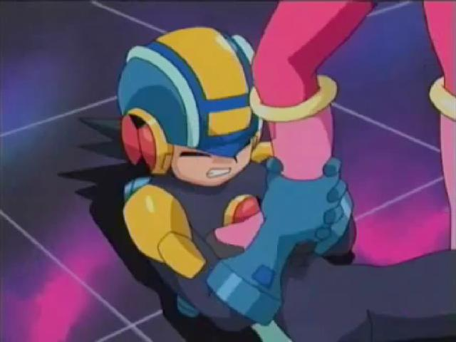 File:Roll-sama steps on Rockman3.jpg