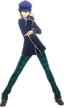 P4D Naoto Shirogane winter outfit change