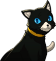 P5 portrait of Morgana's cat form.png