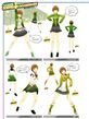P4D Chie's Costume Coordinate 01