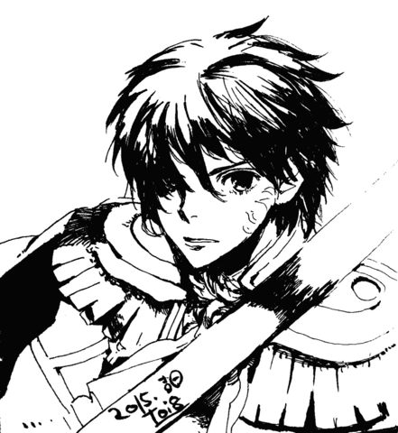 File:SMtxFE Sketch of Itsuki Aoi by toi8.png