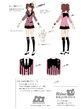 P4D Official Visual Visual Book Original Stage Costume for Rise