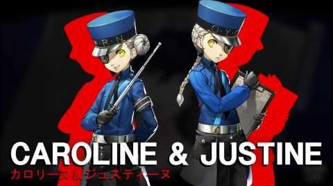 Persona 5 - Caroline & Justine Trailer