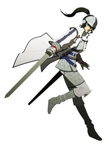 File:Protagonist SMTIV Samurai Outfit.jpg