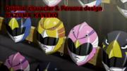 Persona 2 Innocent Sin PSP opening Phoenix Ranger Featherman R masks
