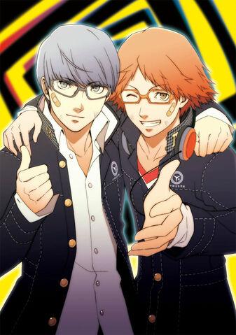 File:P4 manga Volume 2 Illustration.jpg