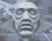 Kagutsuchi's Face before crumbling