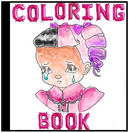 melanie martinez cry baby coloring book pages - image colouring melanie martinez wiki