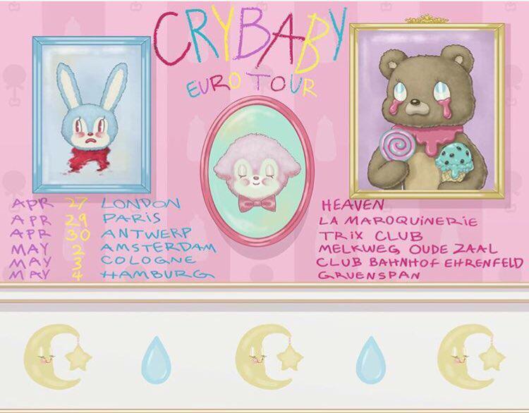 Cry Baby Euro Tour : Melanie Martinez Wiki : Fandom powered by Wikia