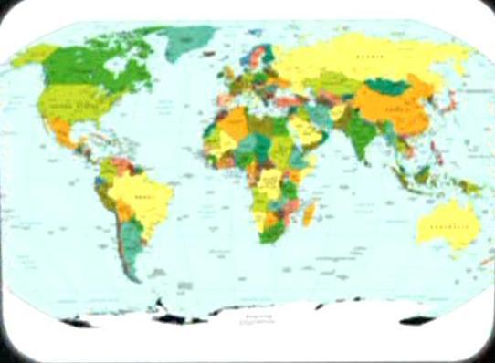 Image Earth Political Mapjpg Memory Alpha FANDOM Powered By - Usa northern hemisphere