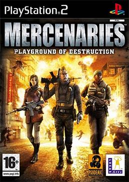 Mercenaries - Playground of Destruction Coverart