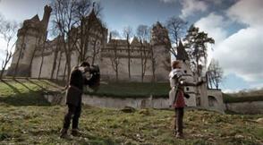 Outside castle remparts