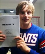 Bradley James Behind The Scenes Series 4-1