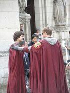 Alexander Vlahos and Bradley James Behind The Scenes Series 5-4