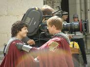 Alexander Vlahos and Bradley James Behind The Scenes Series 5-3