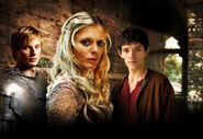 Arthur morgause and merlin