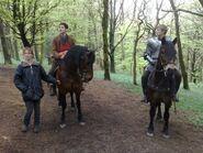 Colin Morgan and Bradley James Behind The Scenes Series 2-1