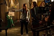 Katie McGrath Bradley James and Rupert Young Behind The Scenes Series 3