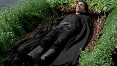 "Merlin 4x09 ""Lancelot's Death"" scene"